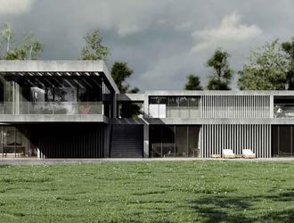 Dom w Małopolsce projektu Easst.com