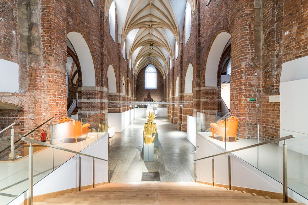 Przebudowa Muzeum Architektury we Wrocławiu