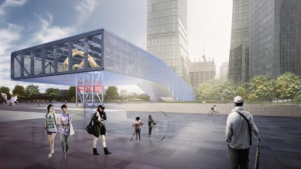 Centrum ekspozycyjne, Shanghai