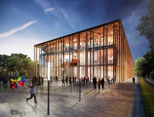 Projekt muzeum etnograficznego w Budapeszcie pracowni OVO Grąbczewscy Architekci