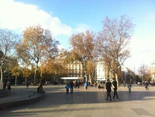 Korespondencja z Paryża, część II: Forum des Halles i Place de la République