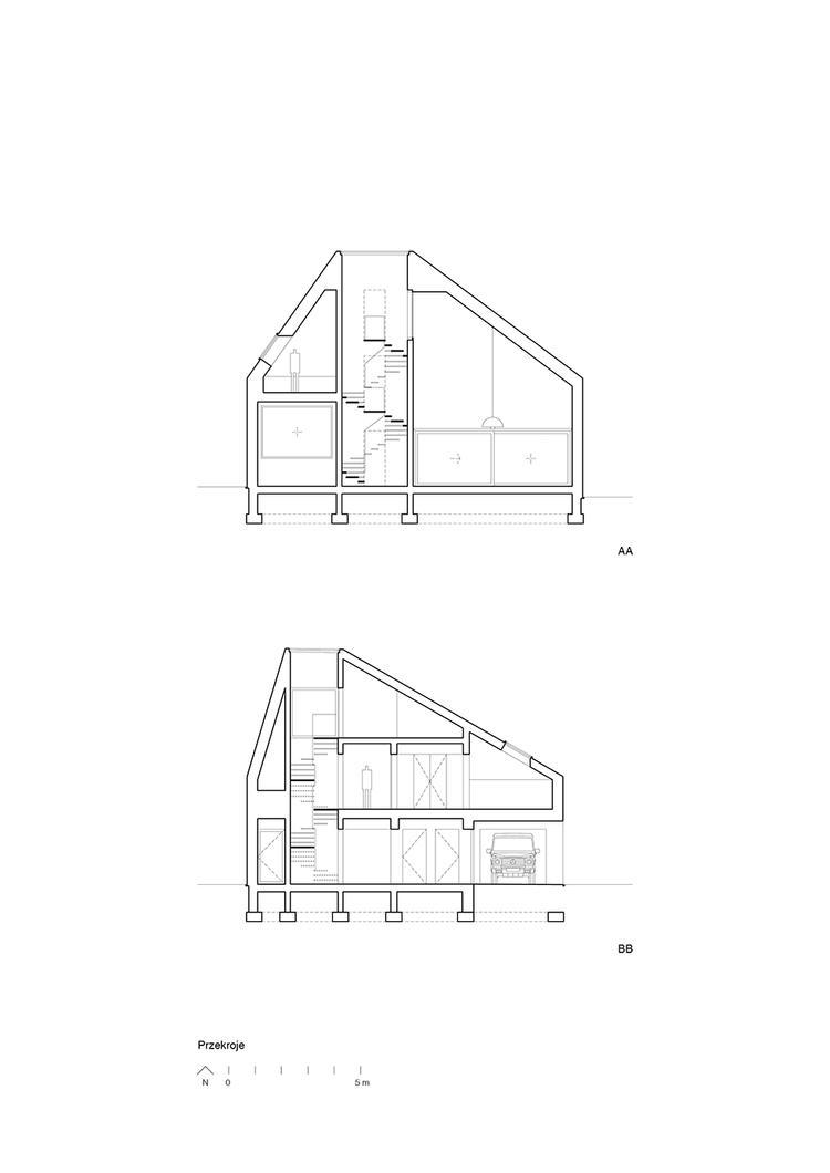 Dom w Lubińcu, Dyrda Fikus Architekci