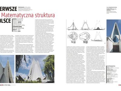 Kościół Miłosierdzia Bożego w Kaliszu: matematyczna struktura