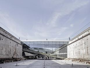 Duńskie Muzeum Morskie w Helsingør projektu Bjarke Ingels Group (BIG)