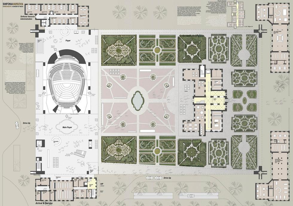 I nagroda - Atelier Thomas Pucher - Zagospodarowanie terenu  (Copy)