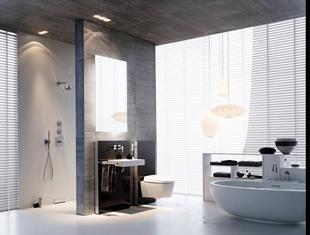 Nowe elementy w projektach nowoczesnych łazienek