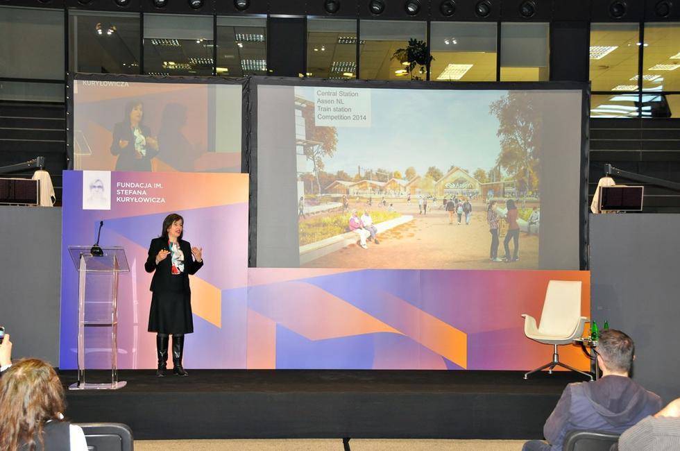 Wykład Nathalie de Vries z MVRDV