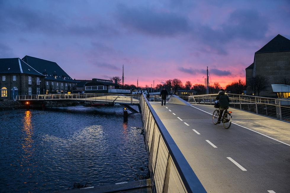 "Most ""Motyl"" w Kopenhadze"