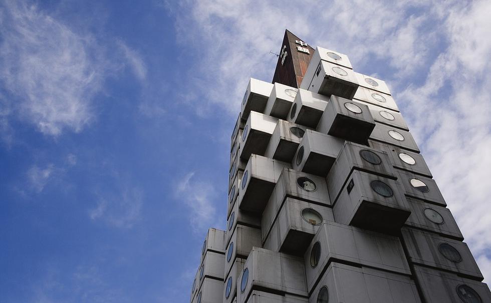 Nakagin Capsule Tower, Tokio