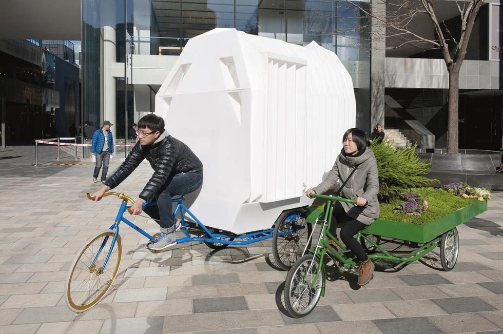 Tricycle House, hotel