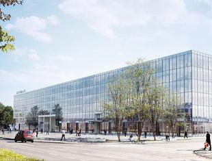 Projekt zagospodarowania terenu po byłym hotelu Cracovia