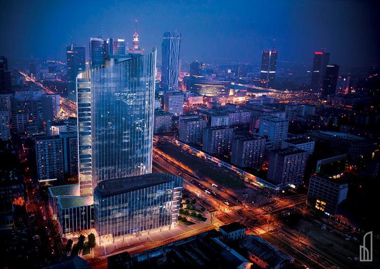 Mennica Legacy Tower w Warszawie