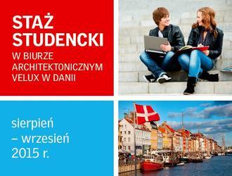 Wakacyjny staż studencki VELUX w Danii