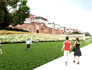 Pracownia Riegler Riewe Architekci zaprojektuje Bulwar Filadelfijski w Toruniu