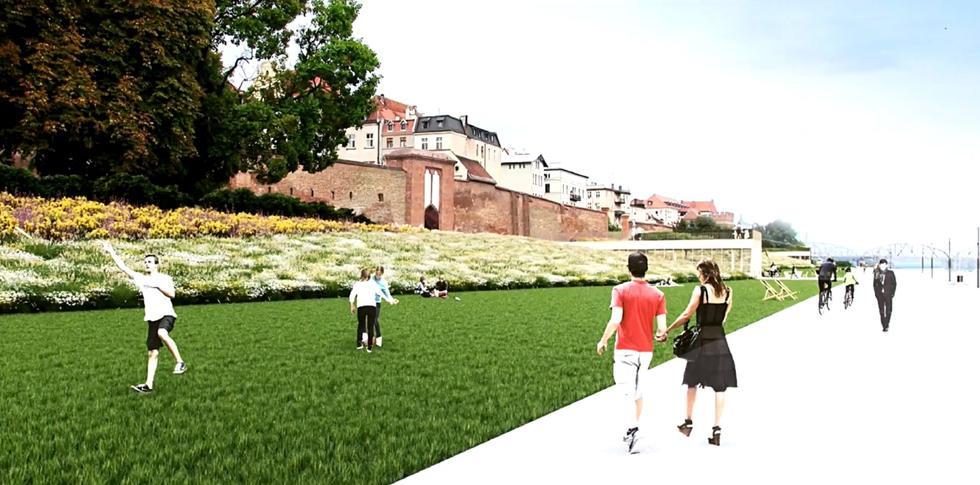 Projekt zagospodarowania Bulwaru Filadelfijskiego w Toruniu