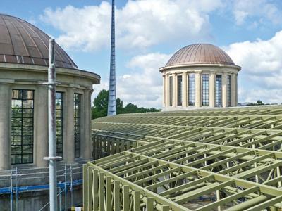 Modernizacja pawilonu Czterech Kopuł przy Hali Stulecia we Wrocławiu
