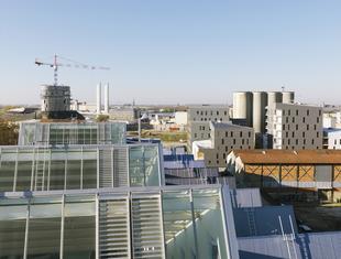 Zabudowa dawnej dzielnicy portowej w Bordeaux