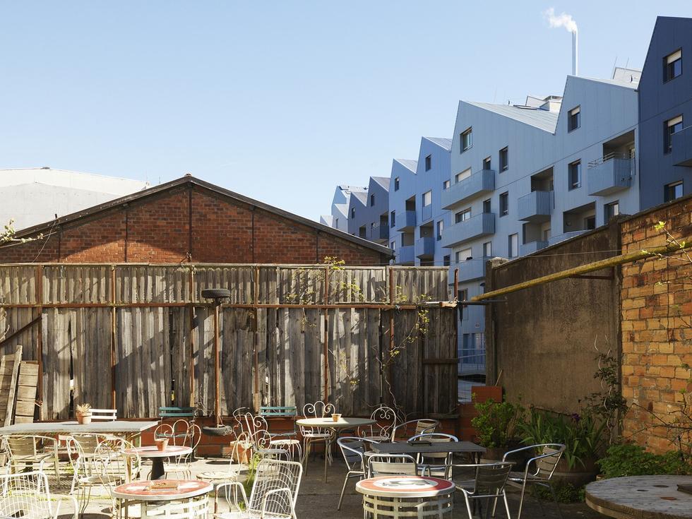 Zabudowa dawnej dzielnicy portowej Bordeaux