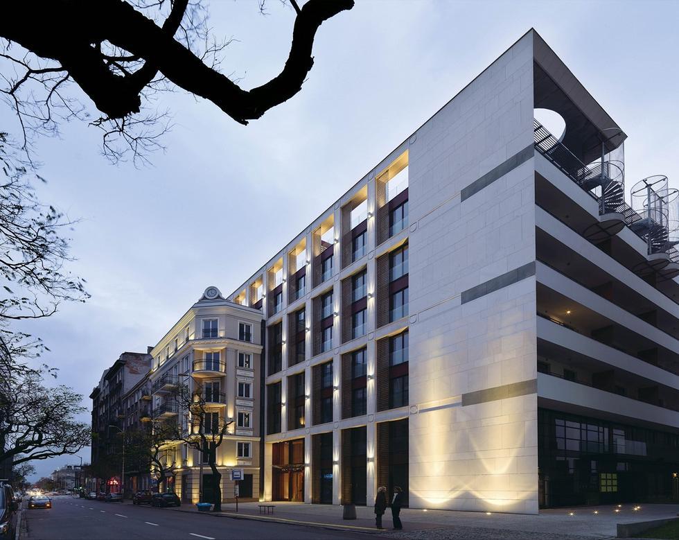 Apartamentowiec w centrum Warszawy