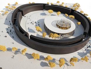 Projekt tężni z kompleksem uzdrowiskowym w Busku-Zdroju