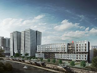 Kompleks mieszkaniowy Atal Towers we Wrocławiu