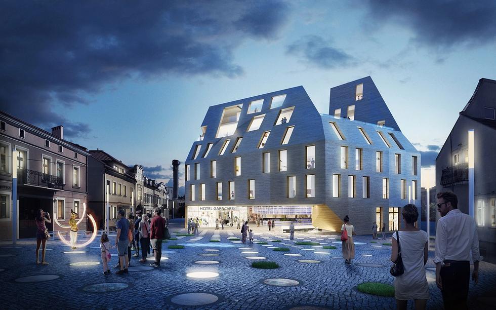 Plac Garncarski w Rzeszowie