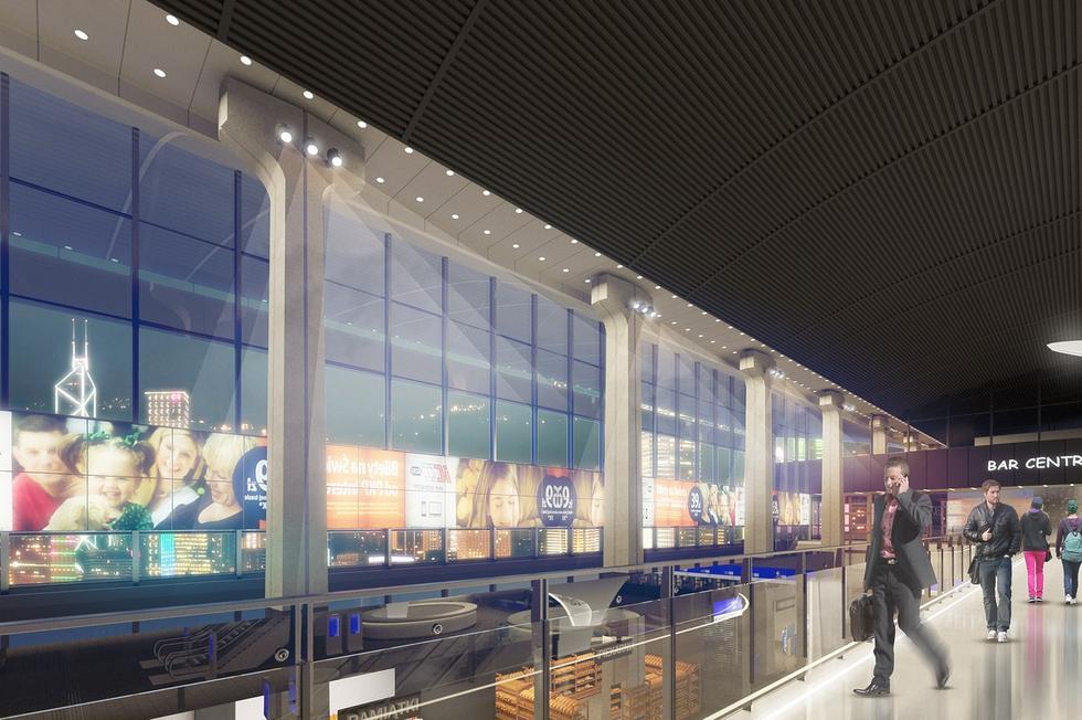 Nowy wygląd Dworca Warszawa Centralna