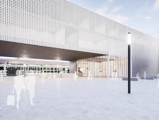 Riegler Riewe projektują dworzec i dom kultury w Goleniowie