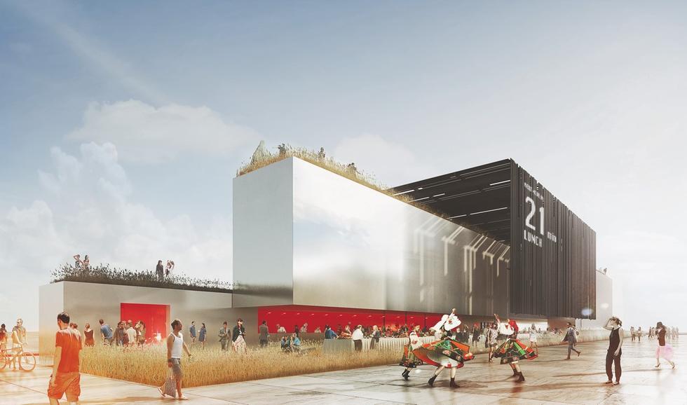 Pawilon polski na Expo 2015 w Mediolanie