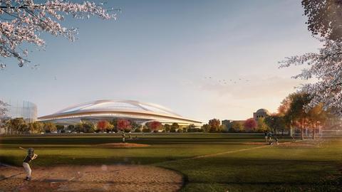 Zaha Hadid Architects o projekcie stadionu w Tokio [FILM]