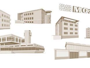 MOK. Ilustrowany atlas architektury północnego Mokotowa