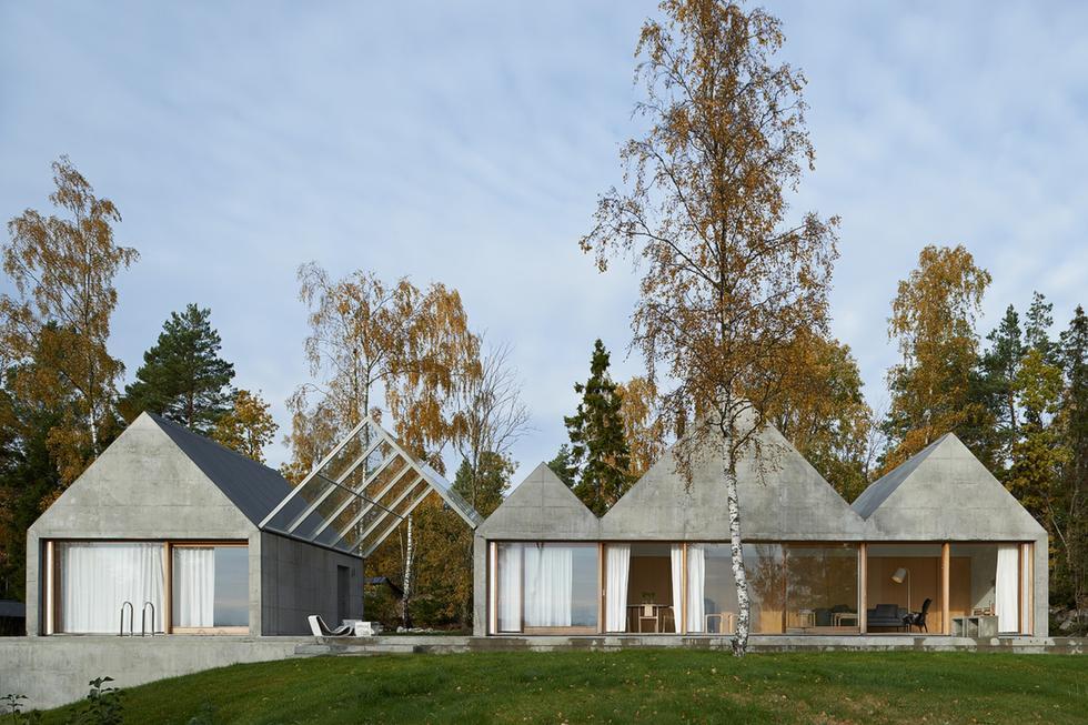 Dom letniskowy projektu Tham & Videgård Arkitekter