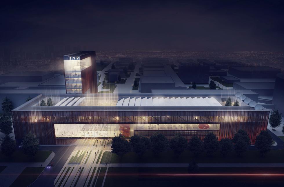 Mąka Sojka Architekci zaprojektują nowy budynek TVP w Warszawie