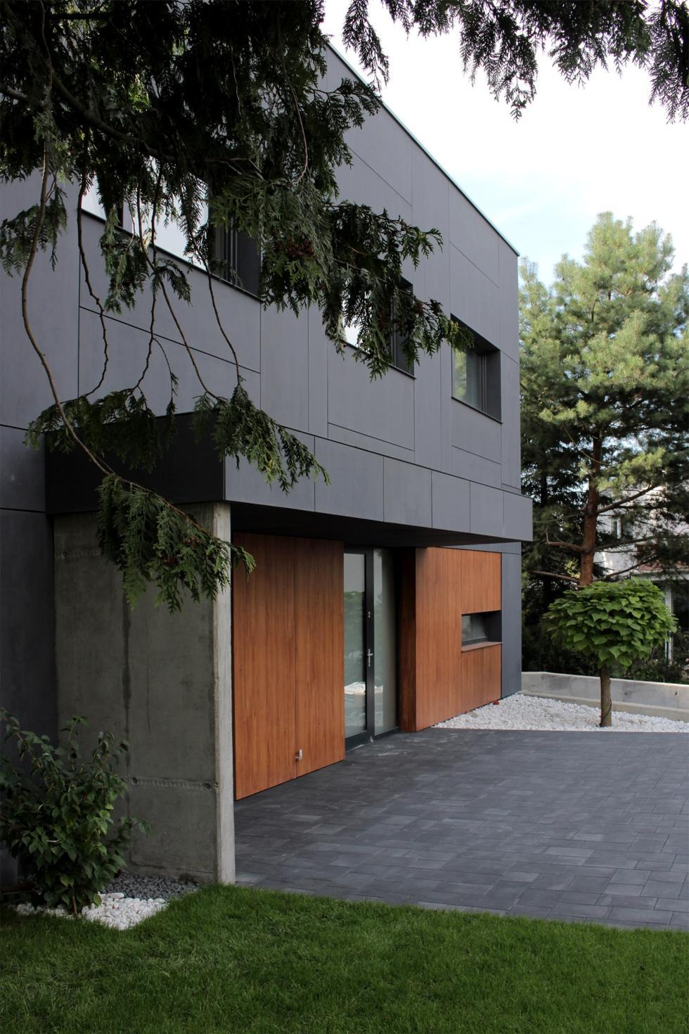 Dom jednorodzinny w Gdyni projektu Easst.com