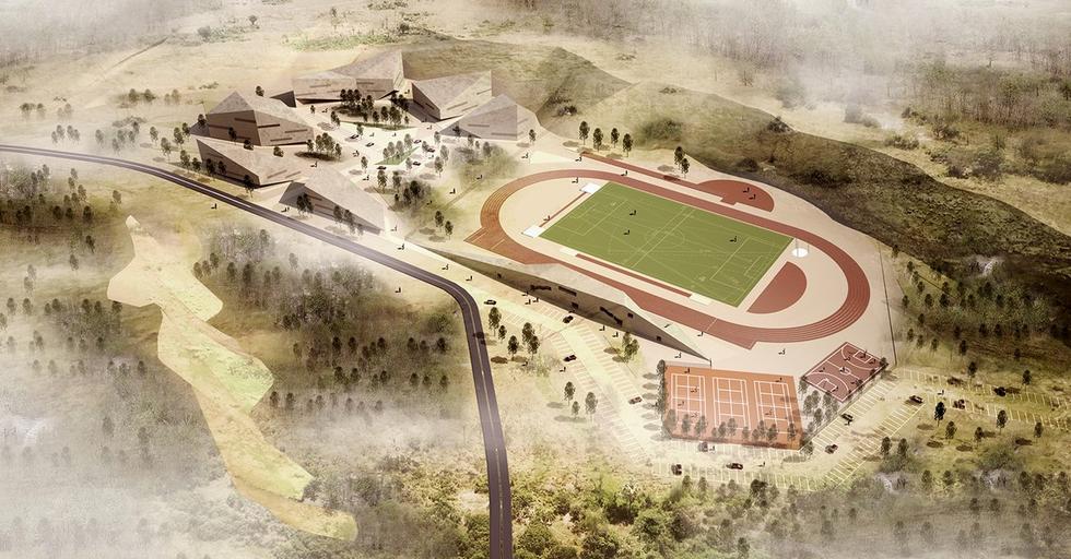 Centrum sportowe w Jaworznie