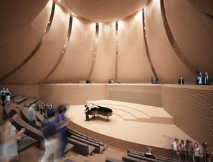 Konior Studio projektuje szkołę muzyczną w Warszawie