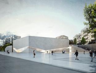 Jeden budynek, dwa muzea. Aires Mateus projektuje dla Lozanny