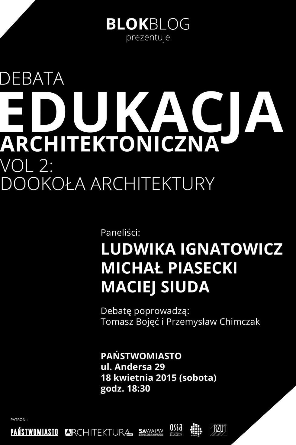 Edukacja architektoniczna