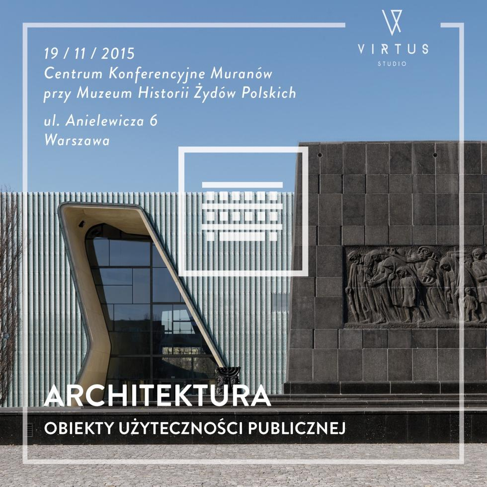 Obiekty Użyteczności Publicznej - Muzeum Historii Żydów Polskich