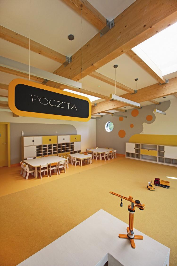 Atrialne przedszkole na Mazowszu
