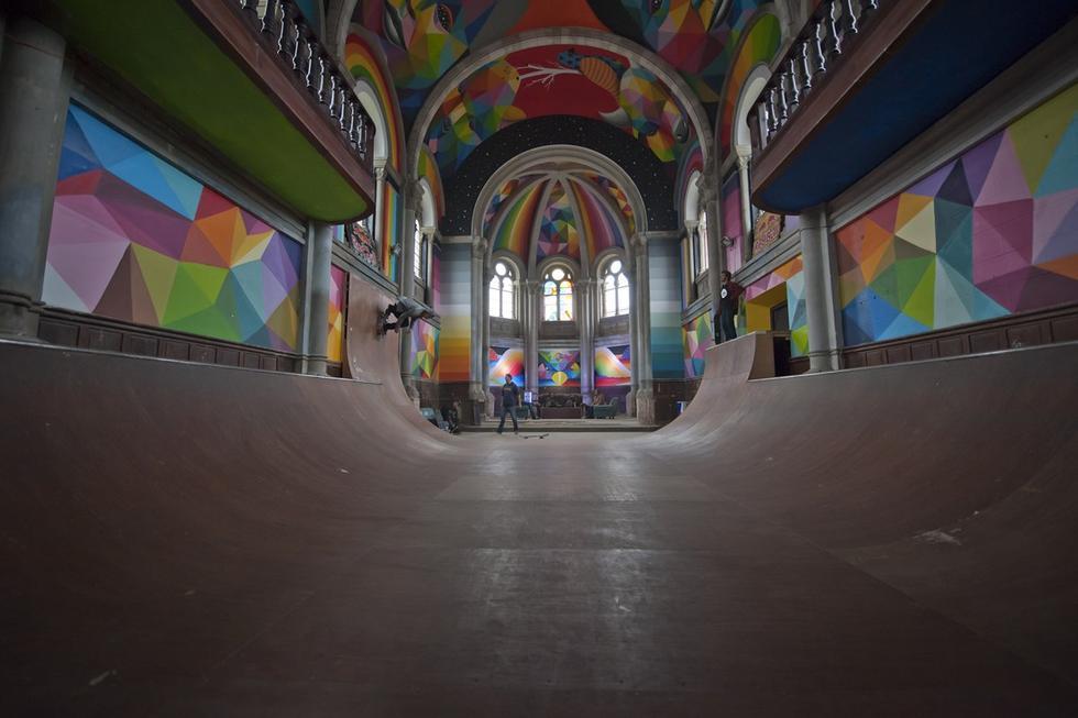 Świątynia skaterów, czyli budynków życie po życiu