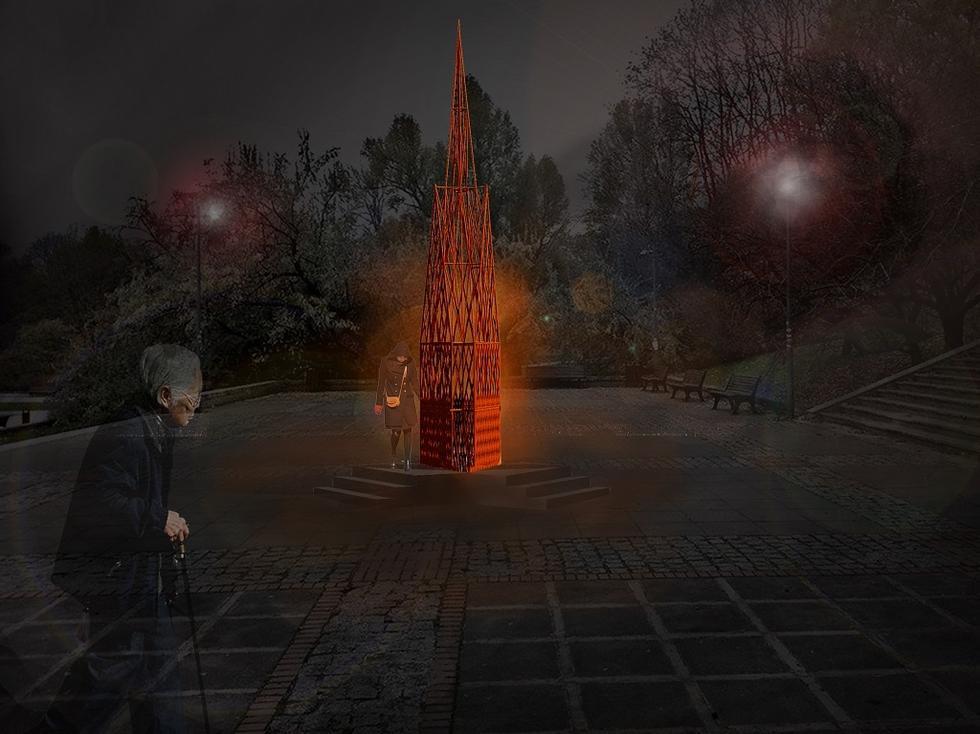 Coal Heart Mother - instalacja Jakuba Szczęsnego na festiwalu Gorzkie Żale