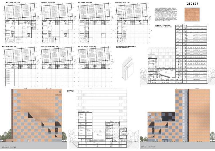 Wyniki studenckiego konkursu na projekt siedziby Archiwum Narodowego w Warszawie
