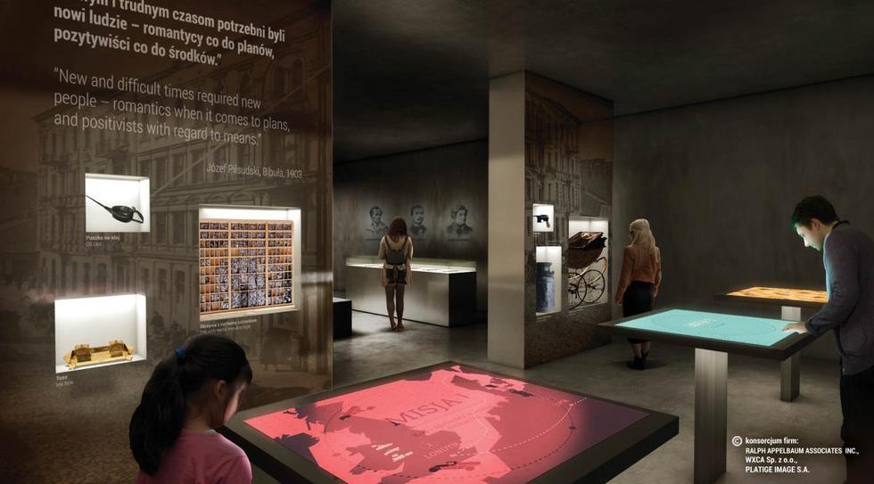 Projekt wystawy stałej w Muzeum Józefa Piłsudskiego w Sulejówku