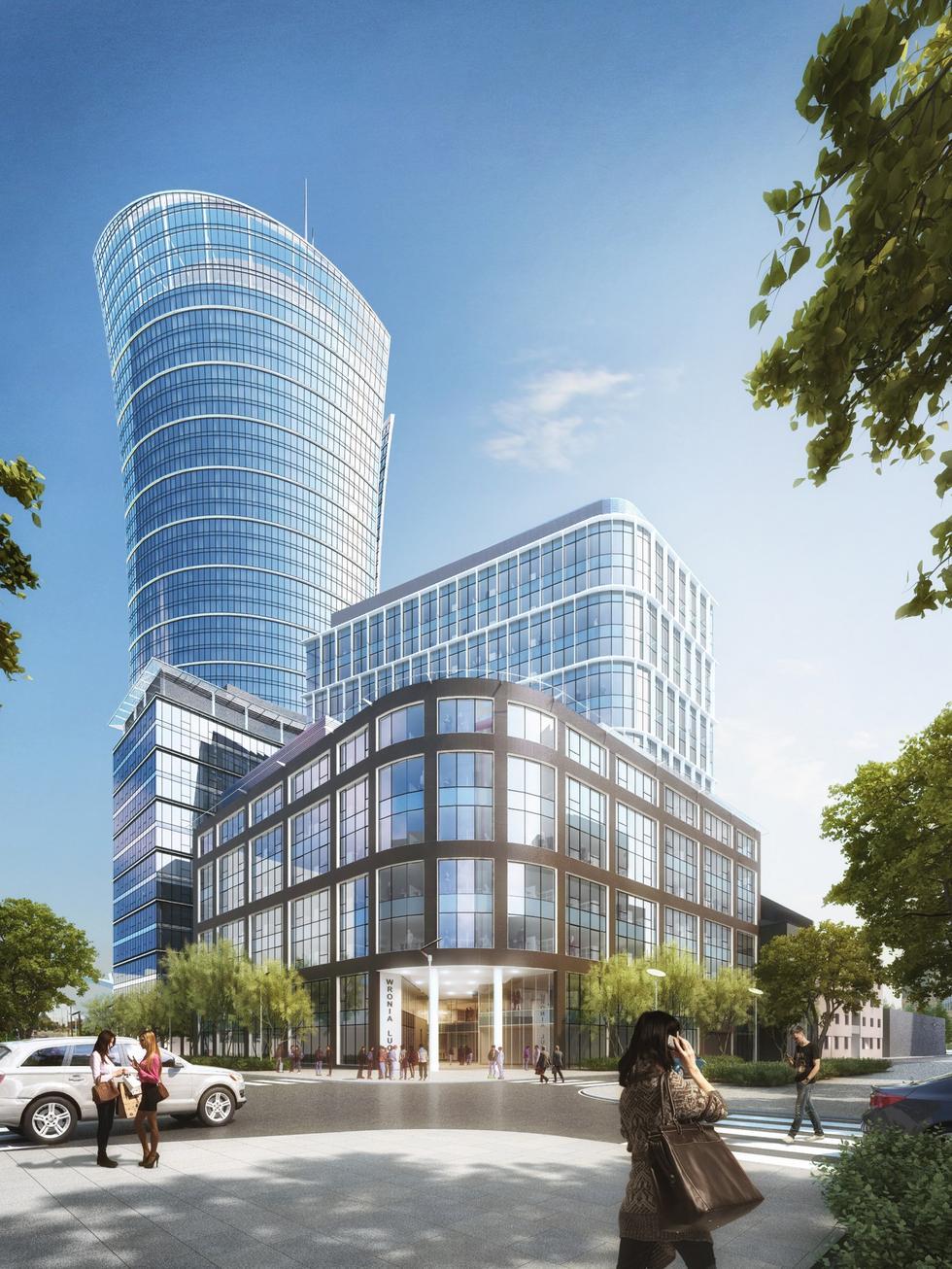 Nowy biurowiec Ghelamco powstanie tuż obok Warsaw Spire