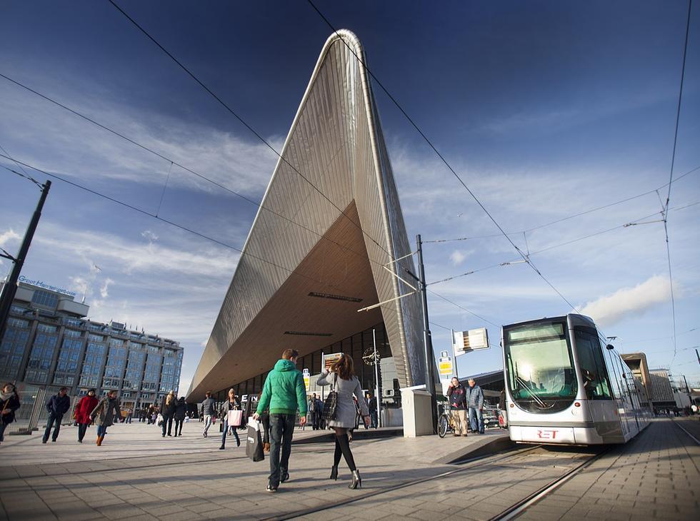 Rotterdam Centraal – dworzec na miarę XXI wieku