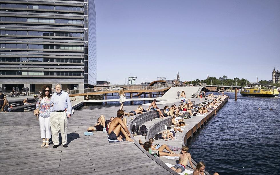 Kalvebod Brygge w Kopenhadze