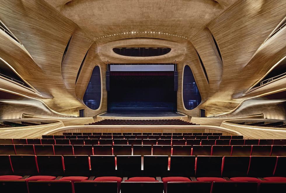 Sala koncertowa w Harbinie