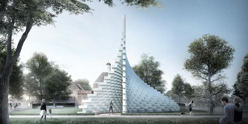 Pawilon Serpentine 2016 według Bjarke Ingels Group