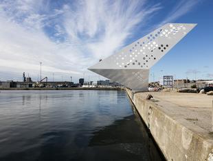 Duńskie origami - wieża widokowa w Aarhus